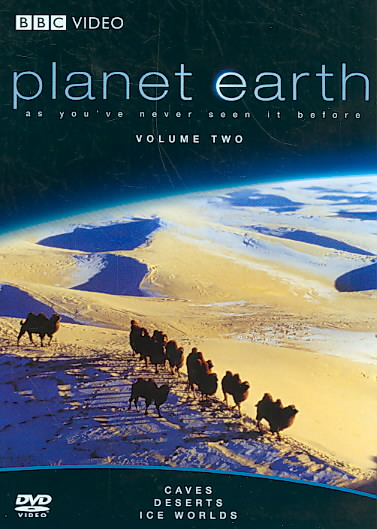PLANET EARTH:CAVES/DESERTS/ICE WORLDS BY PLANET EARTH (DVD)